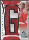 "2007/08 SP Authentic #RCJN Joakim Noah Recruiting Class City Name Rookie Letter ""G"" Patch Auto #33/50"