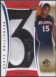 "2007/08 SP Authentic #RCAH Al Horford Recruiting Class Draft Position Rookie Number ""3"" Patch Auto #08/15"