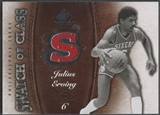 2007/08 SP Game Used #SCJE Julius Erving Swatch of Class Jersey