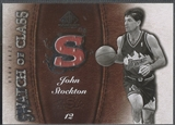 2007/08 SP Game Used #SCJS John Stockton Swatch of Class Jersey
