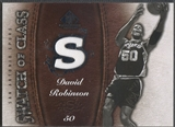 2007/08 SP Game Used #SCDR David Robinson Swatch of Class Jersey