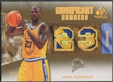 2007/08 SP Game Used #JR Jason Richardson Significant Numbers Patch #25/35