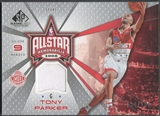 2006/07 SP Game Used #TP Tony Parker All-Star Memorabilia Jersey #034/100
