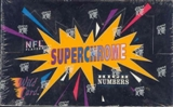 1993 Wild Card Superchrome Hi # Football Hobby Box