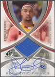 2005/06 SP Game Used #DG Drew Gooden Authentic Fabrics Jersey Auto #011/100