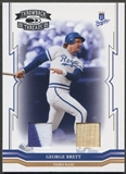 2005 Throwback Threads #284 George Brett Material Combo Bat Patch #17/25