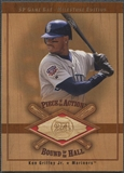 2001 SP Game Bat Milestone #BKGM Ken Griffey Jr. Piece of Action Bound for the Hall Bat