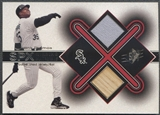 2001 SPx #FT Frank Thomas Winning Materials Bat Jersey