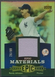 2006 Upper Deck Epic #RJ1 Randy Johnson Materials Blue Jersey #26/99