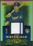2006 Upper Deck Epic #PM1 Paul Molitor Materials Blue Jersey #35/99