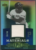 2006 Upper Deck Epic #CL1 Roberto Clemente Materials Blue Jersey #30/99