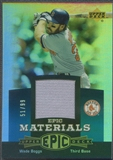 2006 Upper Deck Epic #WB2 Wade Boggs Materials Teal Jersey #51/99