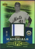 2006 Upper Deck Epic #TS2 Tom Seaver Materials Blue Jersey #50/99