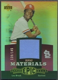 2006 Upper Deck Epic #LB2 Lou Brock Materials Light Purple Pants #139/145