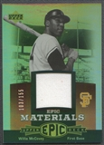 2006 Upper Deck Epic #WM2 Willie McCovey Materials Red Jersey #103/155