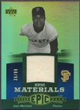 2006 Upper Deck Epic #JM Juan Marichal Materials Blue Jersey #36/99