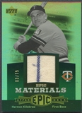 2006 Upper Deck Epic #HK Harmon Killebrew Materials Green Pants #03/75