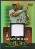 2006 Upper Deck Epic #VG Vladimir Guerrero Materials Red Jersey #093/145