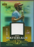 2006 Upper Deck Epic #OS2 Ozzie Smith Materials Orange Jersey #069/185