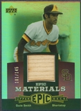 2006 Upper Deck Epic #OS1 Ozzie Smith Materials Dark Purple Bat #101/145