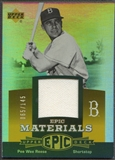 2006 Upper Deck Epic #PR1 Pee Wee Reese Materials Orange Jersey #065/145