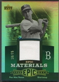 2006 Upper Deck Epic #PR2 Pee Wee Reese Materials Green Jersey #10/75