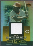 2006 Upper Deck Epic #JO2 Joe Morgan Materials Orange Jersey #076/155