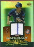 2006 Upper Deck Epic #RS1 Ryne Sandberg Materials Dark Orange Jersey #041/125