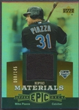 2006 Upper Deck Epic #MP1 Mike Piazza Materials Dark Orange Jersey #008/145
