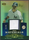 2006 Upper Deck Epic #DM1 Don Mattingly Materials Blue Jersey #26/99