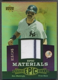 2006 Upper Deck Epic #DM1 Don Mattingly Materials Dark Purple Jersey #015/145