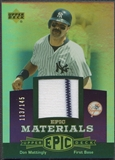 2006 Upper Deck Epic #DM1 Don Mattingly Materials Dark Purple Jersey #113/145