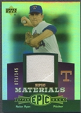 2006 Upper Deck Epic #NR2 Nolan Ryan Materials Dark Purple Jersey #071/145