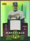 2006 Upper Deck Epic #NR3 Nolan Ryan Materials Dark Purple Jersey #125/145