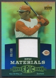 2006 Upper Deck Epic #KG2 Ken Griffey Jr. Materials Blue Jersey #80/99