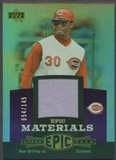 2006 Upper Deck Epic #KG3 Ken Griffey Jr. Materials Dark Purple Jersey #054/145