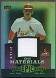 2006 Upper Deck Epic #AP1 Albert Pujols Materials Light Purple Jersey #076/145