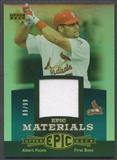 2006 Upper Deck Epic #AP2 Albert Pujols Materials Teal Jersey #89/99