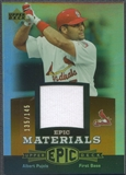 2006 Upper Deck Epic #AP2 Albert Pujols Materials Dark Orange Jersey #135/145