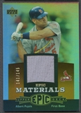 2006 Upper Deck Epic #AP3 Albert Pujols Materials Dark Orange Jersey #141/145