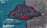 1998 Topps Chrome Football 24 Pack Box