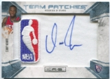 2010/11 Rookies and Stars Rookie NBA Patch Auto Platinum #154 Damion James 1/1