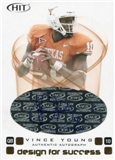 2006 SAGE HIT Design for Success Gold Autographs #DA10 Vince Young /100