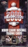 2000 Team Best Rookies Baseball Hobby Box