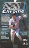 2000 Topps Stadium Club Chrome Baseball Hobby Box
