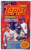 2002 Topps Series 1 Baseball Jumbo Box