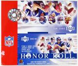 2002 Upper Deck Honor Roll Football Retail Box