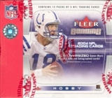 2004 Fleer Genuine Football Hobby Box