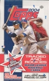 2004 Topps Traded & Rookies Baseball Hobby Box