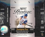 2005 Playoff Prestige Baseball Hobby Box